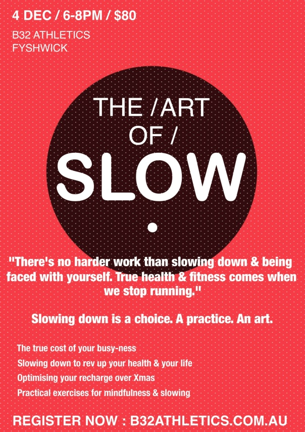 Art of Slow flyer image