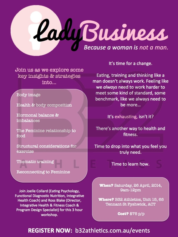 Lady Business 2014 Flyer copy